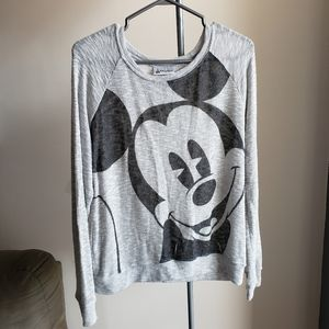 Disney Parks Mickey Mouse Long Sleeve Shirt